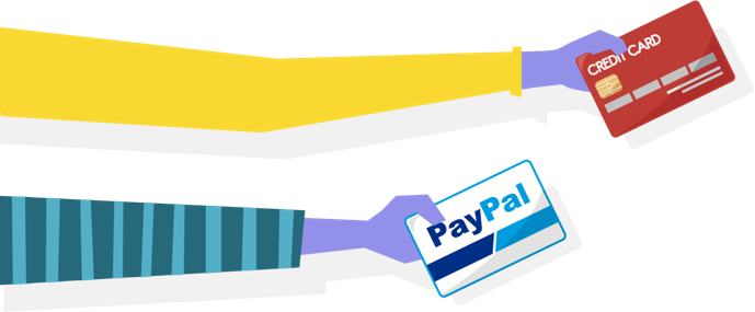 Support PayPal & 100+ Credit Card                         Payment gateway worldwide